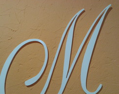 Letras em MDF CRU 6mm at� altura de 70cm