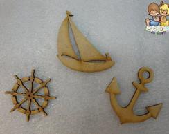 Recortes para apliques - Tema Naval