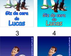 Toy Story �m� De Geladeira Tag Adesivo