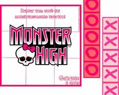 Monster High Jogo Da Velha