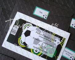 Convite Ingresso - Futebol