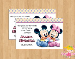 Tag Disney Baby Minnie e Mickey