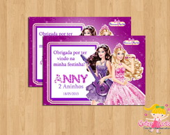 Tag Barbie Princesa e Pop Star