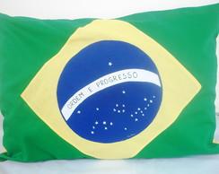 Capa De Travesseiro Brasil