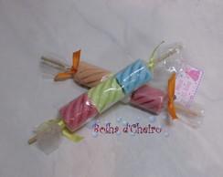 100 Sabonetes Espetinho de Marshmallows