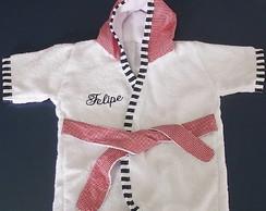 Ref 152 - Roup�o de Beb� Vermelho