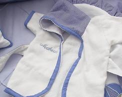Ref 155 - Roup�o de Beb� Azul