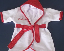 Ref 157 - Roup�o de Beb� Vermelho