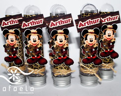 Tubete em Scrap Mickey Safari