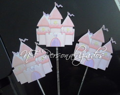 Toppers Para Doces Castelo