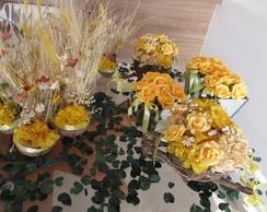 kit festa rustico amarelo I