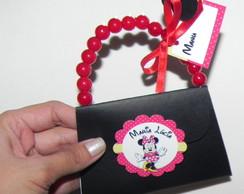 Convite Bolsinha da Minnie