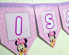 Bandeirola Minnie Baby M1