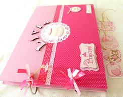 Livro De Assinaturas - Rosa e pink