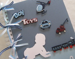 �lbum Do Bebe  Toys - Pronta Entrega