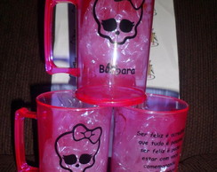 Caneca 400 Ml Acr�lico Monster High