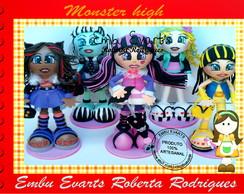 boneca em eva monster high