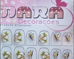 Adesivos Flores e borboletas