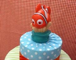 Bolo Em Tecido - Nemo / Fundo do Mar