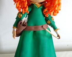 Boneca 3D Valente Princesa M�rida