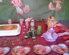 Mesa  festa de Anivers�rio Moranguinho