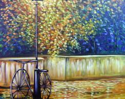 Pintura Em Tela Paisagem 120X180 Cod 592