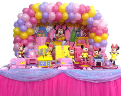 Decora��o da Minnie Rosa.
