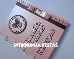 Livro de Mensagens Minnie