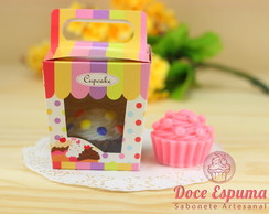 Sabonete Artesanal Cupcake