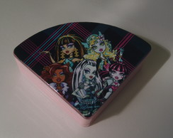 Estojo De Maq. Infantil Monster High