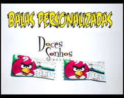 Balas personalizadas angry birds