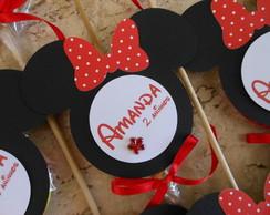 "Pirulito personalizado ""Minnie"""