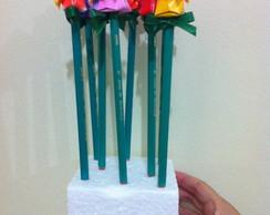 L�pis com Tulipa