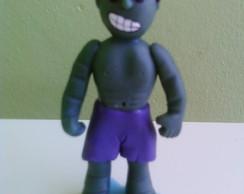 Topo de bolo hulk - Os vingadores