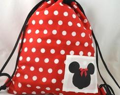 Mochila (M): inspirada na Minnie