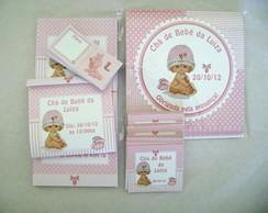 Kit Ch� de Beb�: Boneca Proven�al Rosa
