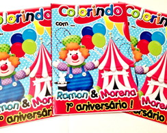 Revista de Colorir Circo