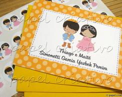 Cart�o Personalizado Pr�ncipe & Princesa