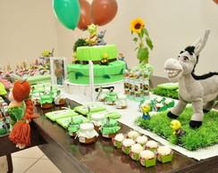 Decora��o De Festa Infantil Shrek