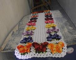 caminho de mesa borboletas