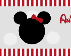 R�TULO DE �GUA MICKEY E MINNIE