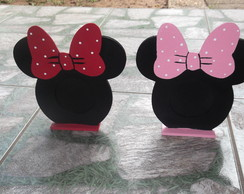 "PORTA RETRATO MINNIE ""CABE��O"""