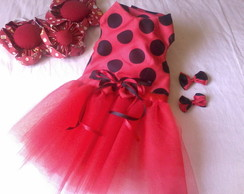 Vestido de Joaninha!