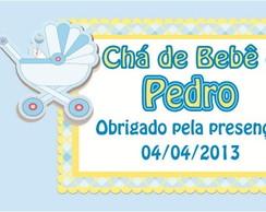Tags/R�tulo - Ch� de Beb� Menino