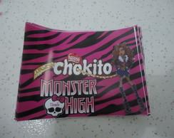 R�tulo para Chocolate da Monster High