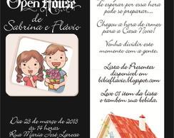 Convite de Open House