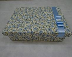 Porta J�ias P Floral Azul