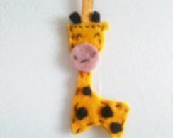 Girafa de feltro