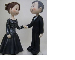 Topo de Bolo Bodas de Casamento