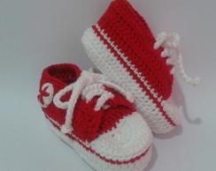 T�nis All Star Baby Vermelho